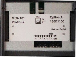 Profibus Mca 101 130b1100 Pnp Motion Controls